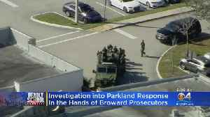 Police Response To Parkland Investigation Moves To Broward Prosecutors [Video]