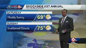 Leftover rain showers tonight; weekend looks mostly dry [Video]