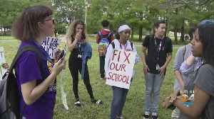 Dozens Of South Plantation High Students Walk Out Over Mold, Air Quality Concerns [Video]