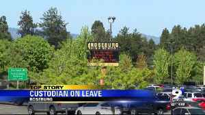 Roseburg Highscool custodian on leave after his gun was stolen from school closet [Video]