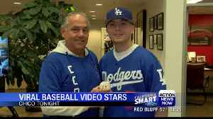 Orland father and son foul ball adventure at Giants game goes viral [Video]
