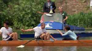 Sporty Kate: Duchess launches King's Cup Regatta with William [Video]