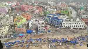 New aerial footage shows cyclone's trail of destruction in eastern India [Video]
