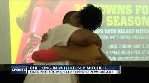Kelsey Mitchell, former Princeton and OSU star, honored in Woodlawn [Video]