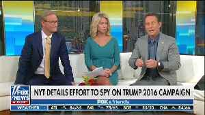 Fox & Friends Rips CNN's Cuomo, MSNBC's O'Donnell for Mocking Trump's Claim He Was Spied On [Video]