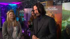 Keanu Reeves loves a good fight at 'John Wick boot camp' [Video]