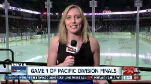 Kari live ahead of game one Condors Pacific Division Finals [Video]