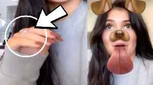 Kylie Jenner Spotted Wearing An Engagement Ring! [Video]