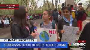 MSNBC praises students skipping school for climate change [Video]