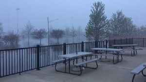 Fog Blankets Flooded Streets in Davenport Amid Record Flooding [Video]