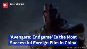 The Avengers Take Over China [Video]