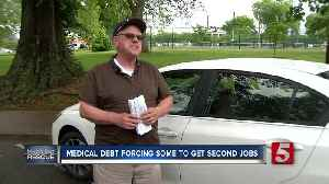 Man spends retirement driving for Uber to pay of medical debt [Video]