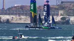 High-Tech Sailboats Race on the Bay This Weekend [Video]