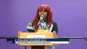 Students announce big news at College Decision Day [Video]