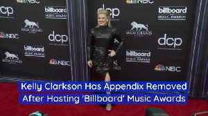 Kelly Clarkson Has Emergency Surgery Right After Billboard Music Awards [Video]