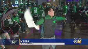Dallas Stars Fans Cheer On Team From Afar [Video]