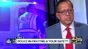 Officers initiate 'no confidence' vote agaist Mesa Police Chief Ramon Batista [Video]