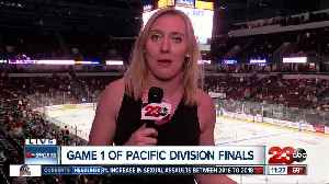 Live in overtime at game one of the Pacific Division Finals [Video]
