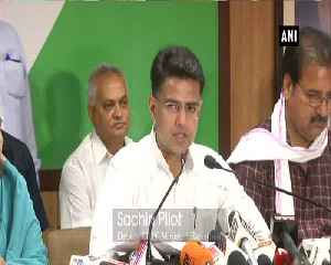 Sachin Pilot questions Centre for development work in Rajasthan [Video]