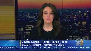 North Korea Test Fires Short Range Missiles [Video]