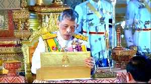 News video: Thailand's King Vajiralongkorn crowned as divine monarch