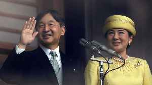 Japan's new emperor makes first public appearance [Video]