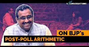 'Have the king, don't need kingmaker': BJP's Ram Madhav on post-poll math [Video]