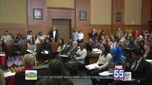 Naturalization ceremony held [Video]