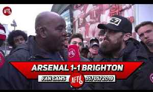 Arsenal 1-1 Brighton   Ozil Let All The People That Defend Him Down! (Turkish Rant) [Video]