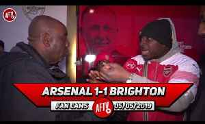 Arsenal 1-1 Brighton | Who Do We Blame? The Players Or Manager? (Robbie Asks Fans) [Video]