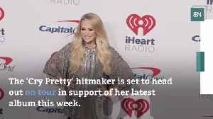 Carrie Underwood Attempts To Find Life Balance [Video]