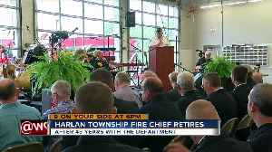Harlan Twp's only Fire chief retires [Video]