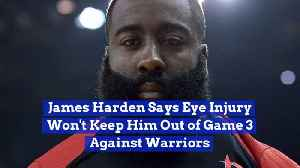 James Harden Comments On His Eye Injury [Video]