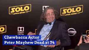 The Man Who Played Chewbacca Has Died [Video]