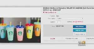 Starbucks' Eco-Friendly Color-Changing Cups Are Selling Out [Video]