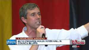 O'Rourke Holds Town Hall [Video]