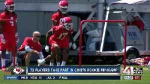 New Chiefs feel sense of urgency at rookie minicamp [Video]