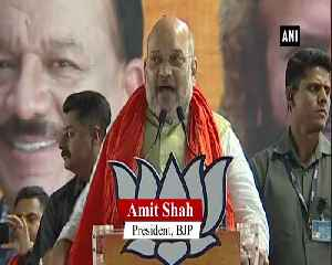 Amit Shah slams Rahul Gandhi Arvind Kejriwal for their stand on sedition law [Video]