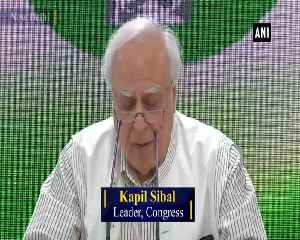 Nearly 3 lakh crore cash circulation increased after demonetisation Kapil Sibal [Video]