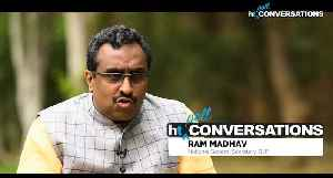 Alliance wasnt serving national cause Ram Madhav on failed BJP PDP tie up [Video]