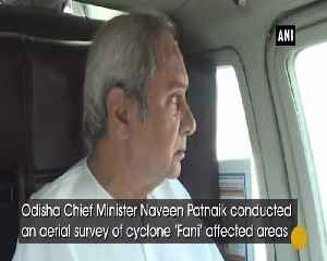 Fani Aftermath Naveen Patnaik conducts aerial survey of cyclone hit areas [Video]