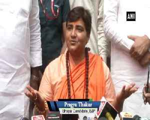 Pragya Thakur addresses media post 3 day campaign ban [Video]