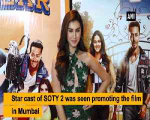 Tiger shroff shares experience of working with newbies Ananya Pandey Tara Sutaria [Video]