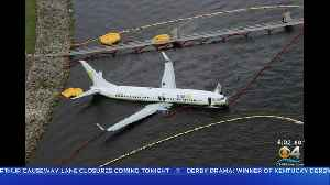 Questions Remain After Charter Flight From Cuba Skids Into River Off Jacksonville Runway [Video]