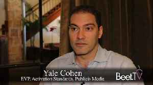 New Formats Emerge As Consumer TV Choices Grow: Publicis' Cohen [Video]