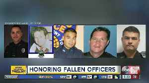 Hundreds come together of honor fallen officers at MacDill Air Force Base [Video]