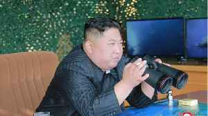 Kim Jong Un Shows Force With Barrage Of Missiles [Video]