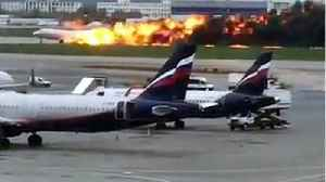 Plane Catches Fire, Emergency Lands In Moscow, 13 Dead [Video]
