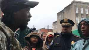 Mayor & Police Commissioner show support for neighborhood affected by recent shootings [Video]
