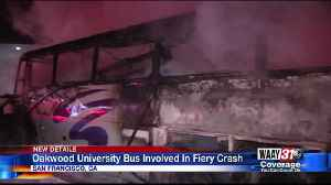 Oakwood University Students Involved in Bus Fire in San Francisco [Video]